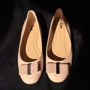 Fiona pink shoes. Slip one  size 7 patent